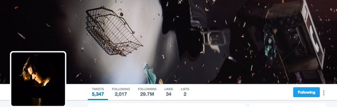 👀 Harry Styles's new Twitter layout