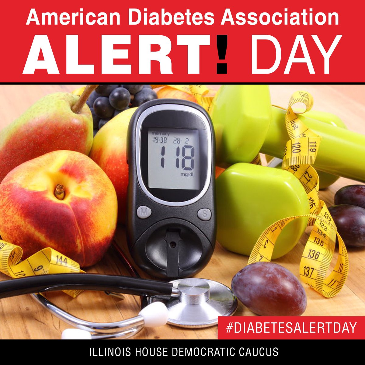 test Twitter Media - On #DiabetesAlertDay, we are raising awareness of risk factors associated with type 2 diabetes, such as family history, weight, &inactivity. https://t.co/mvNJYvVCyT