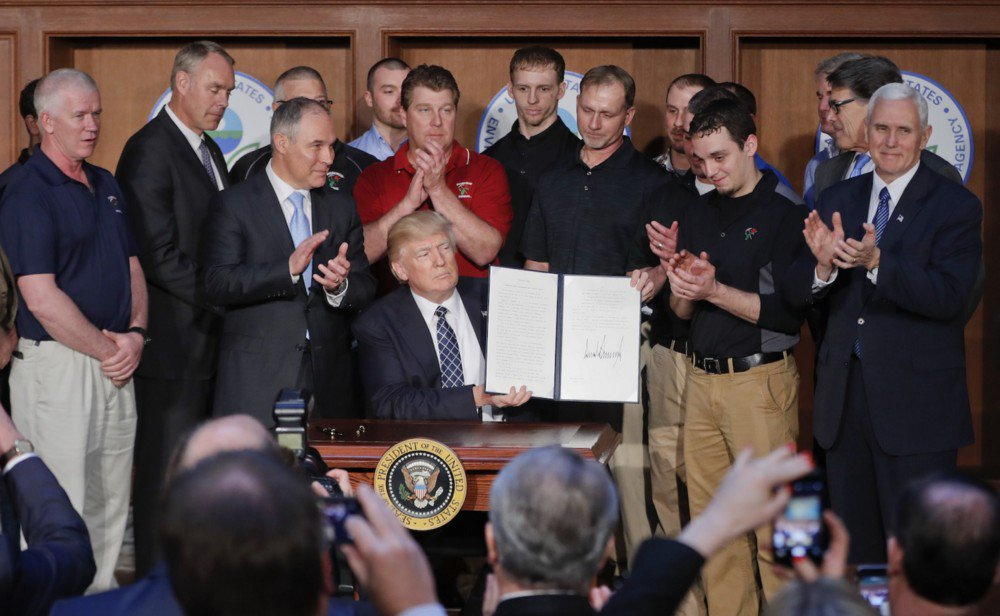Trump's executive order on climate just turned the U.S. into a rogue nation