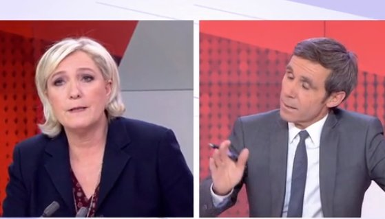 David Pujadas se ridiculise en tentant de piéger Marine Le Pen >> https://t.co/3bdRuZKHoc