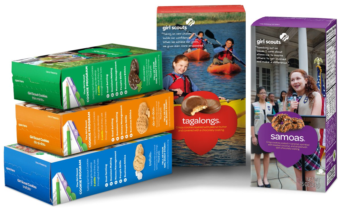 PICK ONE. #GirlScoutCookies