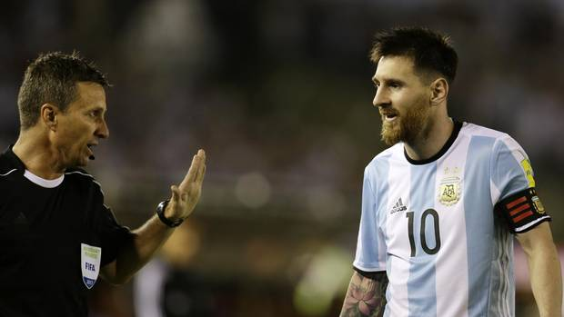 FIFA bans Lionel Messi for four World Cup qualifying @Globe_Sports