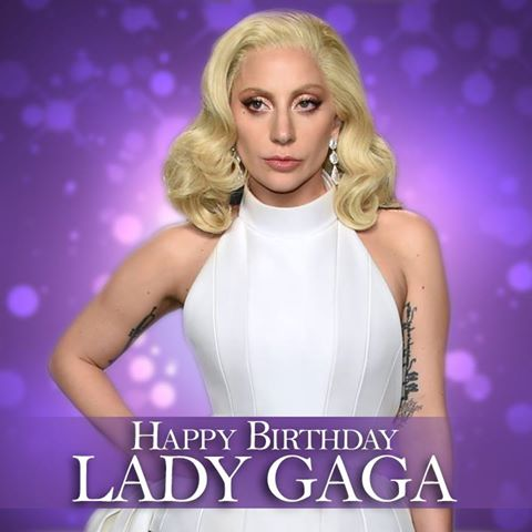 Happy 31st birthday to the one and only, the incredibly talented Lady Gaga!