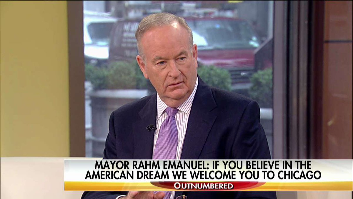 Bill O'Reilly: Sanctuary City Advocates 'Want Anarchy' @oreillyfactor @OutnumberedFNC https://t.co/oSDeY1GRzd