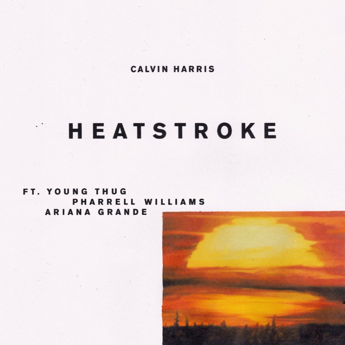 RT @CalvinHarris: CALVIN HARRIS // YOUNG THUG // PHARRELL // ARIANA GRANDE https://t.co/9Ups0Eu53O