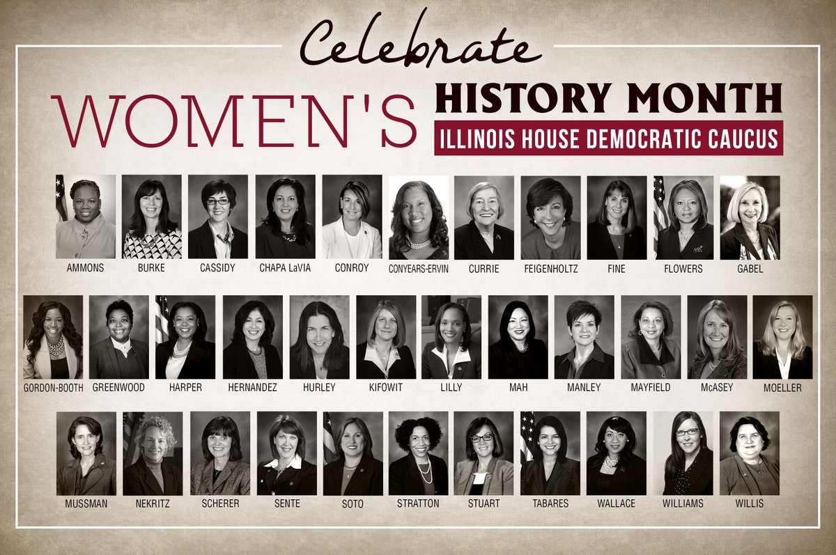 test Twitter Media - During #WomensHistoryMonth, we want to recognize the amazing women of the Illinois House Democratic Caucus. #WeMakeHerstory #twill https://t.co/SPj64AXNnQ