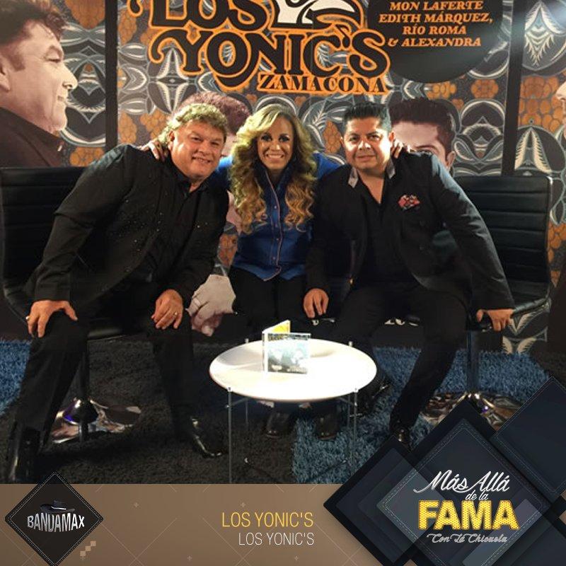 test Twitter Media - Es momento de conocer todo acerca de Los @yonicsoficial en #MásAlláDeLaFama con La @chicuela ¡Comenzamos! https://t.co/a7LrG3u1FY