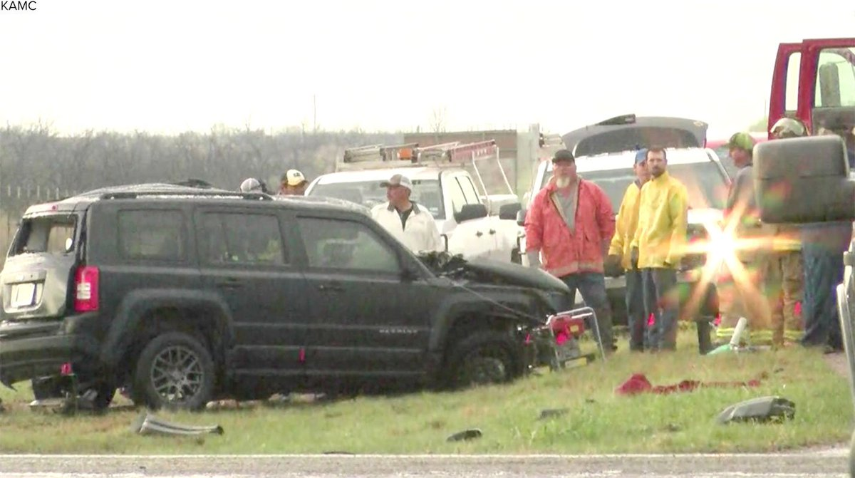 Three storm chasers killed in Texas crash, authorities say.