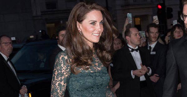 Don't mind us, we're just filled with envy at Kate Middleton's new green ensemble: