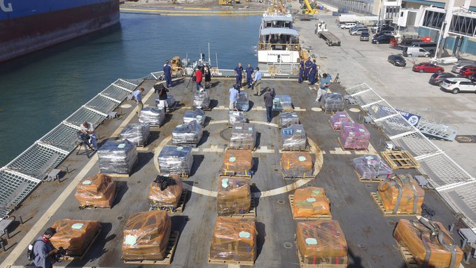 Coast Guard seizes 16 tons of cocaine worth over $400M in Pacific  https://t.co/NRZHHGjQVT via @travfed