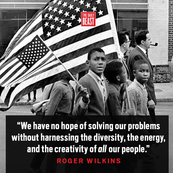 Rest in peace, Roger Wilkins, champion of civil rights.