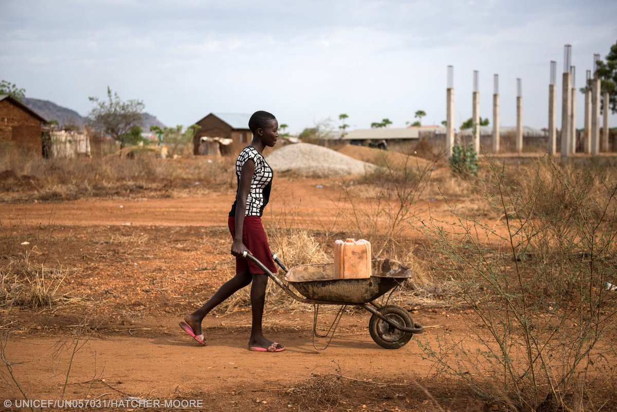 27m people threatened by lack of safe water in NE Nigeria, Somalia, S Sudan and Yemen where famine looms https://t.co/mAjeD7mWI1 #4famines