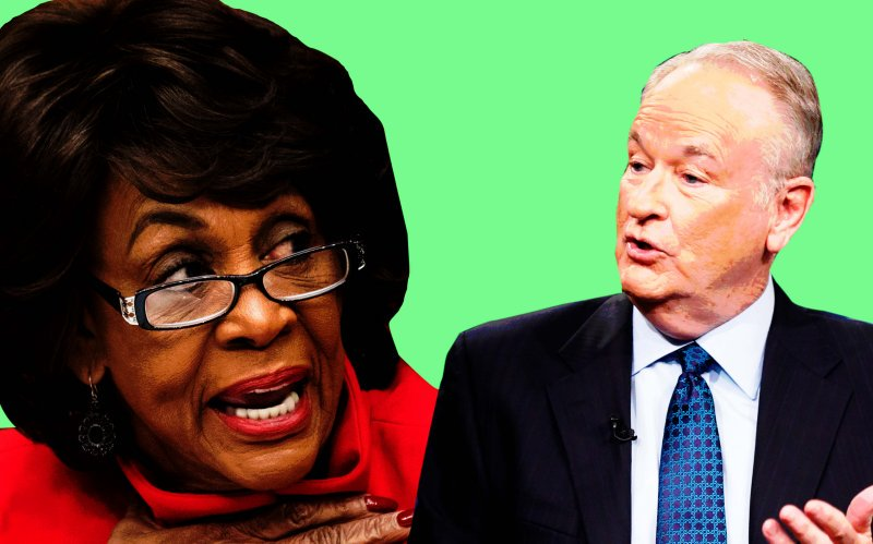 NEW: Bill O'Reilly laughs through on-air apology as Maxine Waters fires back  https://t.co/gcc53KZOa1