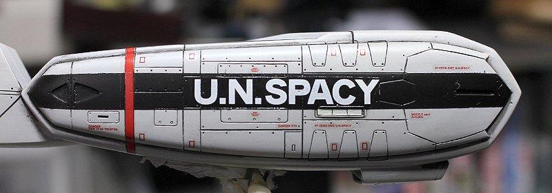 【#マクロス #VF0S #ハセガワ】空モノのデカール貼りは根気が必要ですな~エンジンサイドや機体上面は見せ場ポイント。
