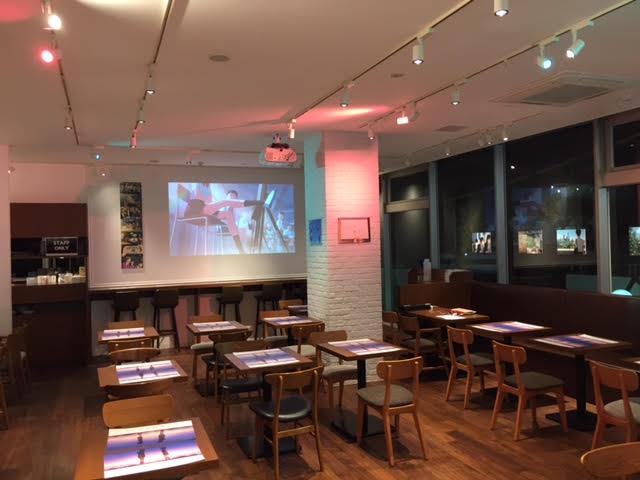 いよいよ本日から、大阪で「君の名は。」カフェがOPENです!東京・名古屋会場でお楽しみいただいたメニューをご用意しており