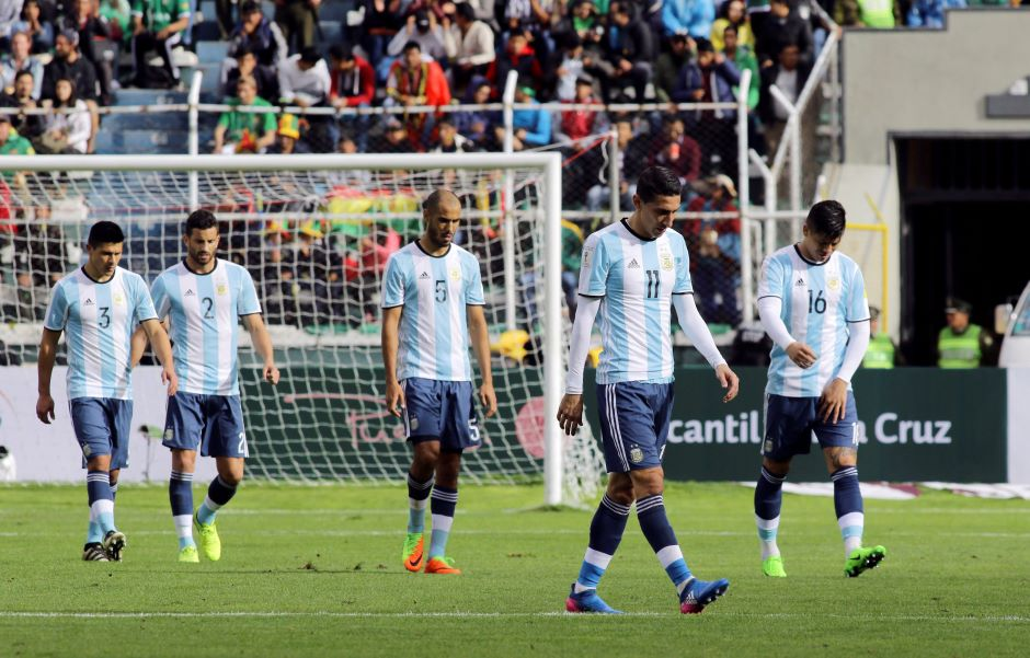 Bolivia beat Messi-less Argentina 2-0 in qualifier - Football