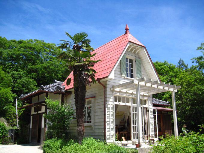 トトロのサツキとメイの家のモデル🎵埼玉県所沢市の狭山丘陵にあるそうです✨