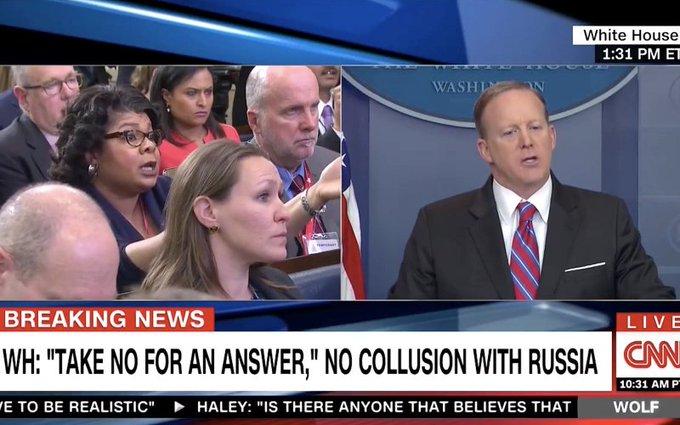 Today's White House rumble: Sean Spicer vs. April Ryan    https://t.co/Yo0Ts9iFsI