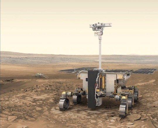 欧州の「エクソマーズ2020」火星探査車 2箇所の着陸候補地が決定 - https://t.co/yd5ogNjXiB