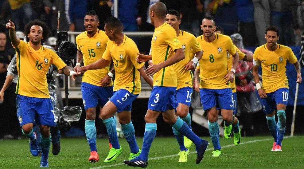Brasil logra la clasificación matemática para el Mundial #Rusia2018. Así está la tabla de posiciones #Conmebol: https://t.co/J4sbifUXbn