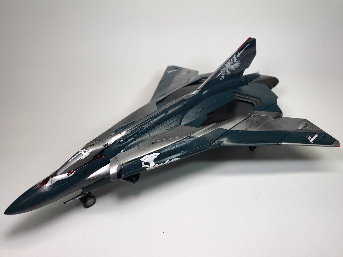 [マスターはよせ!]ハセガワ Sv-262Ba ドラケンIII ヘルマン機の完成です!コクピット後方2つのセンサーは瞬接