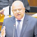 Finance minister back in S.Africa after Zuma recall