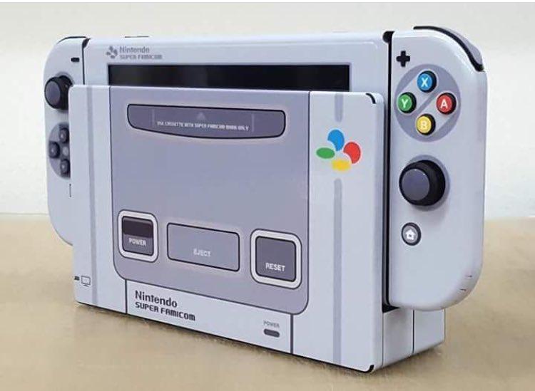 Le custom qui fait plaisir 😍 Switch X Super Famicom #Nintendo #switch #SFC