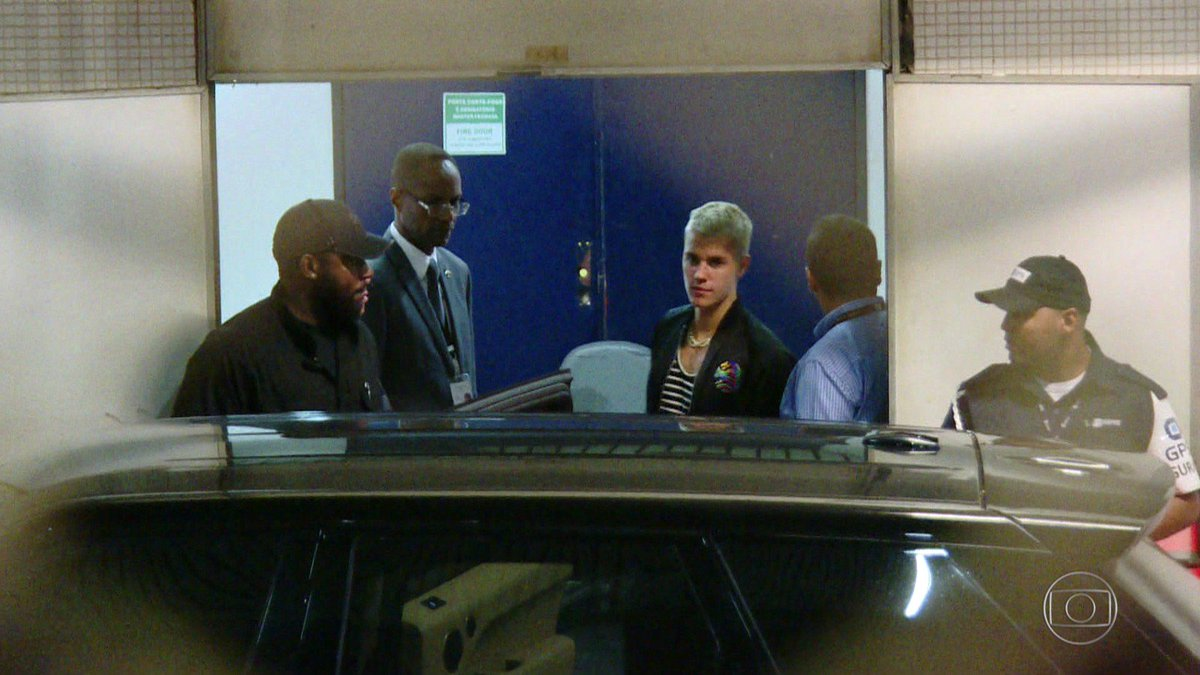 Justin Bieber chega ao Rio de Janeiro para show na Apoteose #G1