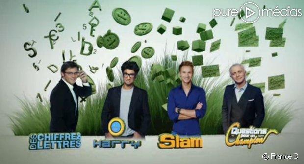 France 3 : Audiences record pour 'Slam', 'Des Chiffres et des lettres' et 'Harry' https://t.co/Zc1Py306Bx