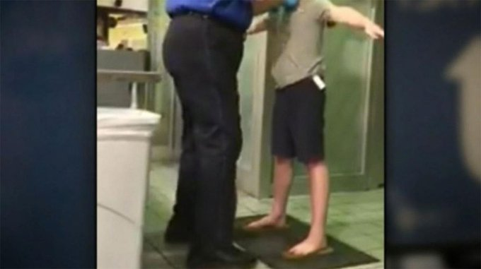 Mother 'livid' over disputed pat-down of son at TSA checkpoint inside Dallas-Fort Worth International Airport. https://t.co/TdNfTn6WNQ