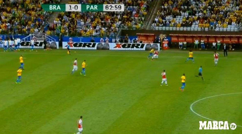📹 Salvaje carrera de @neymarjr en 70 metros para acabar con gol un jugada antológica ▶ https://t.co/nyKpQrYLcf #Rusia2018