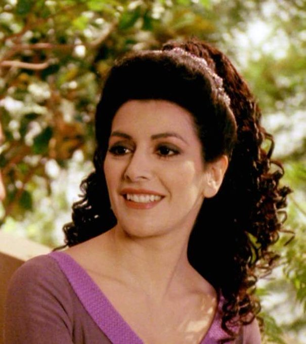 Happy Birthday to the lovely Marina Sirtis!