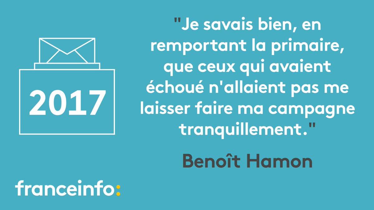 #Presidentielle2017 'Je ne suis pas surpris [par le possible soutien de Valls à Macron]' déclare Hamon https://t.co/Id6ykIE8mn