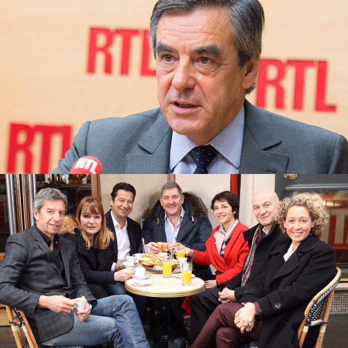 Demain jeudi @FrancoisFillon sera l'invité des petits déjeuners de la Présidentielle dans #RTLMatin entre 7h et 9h !