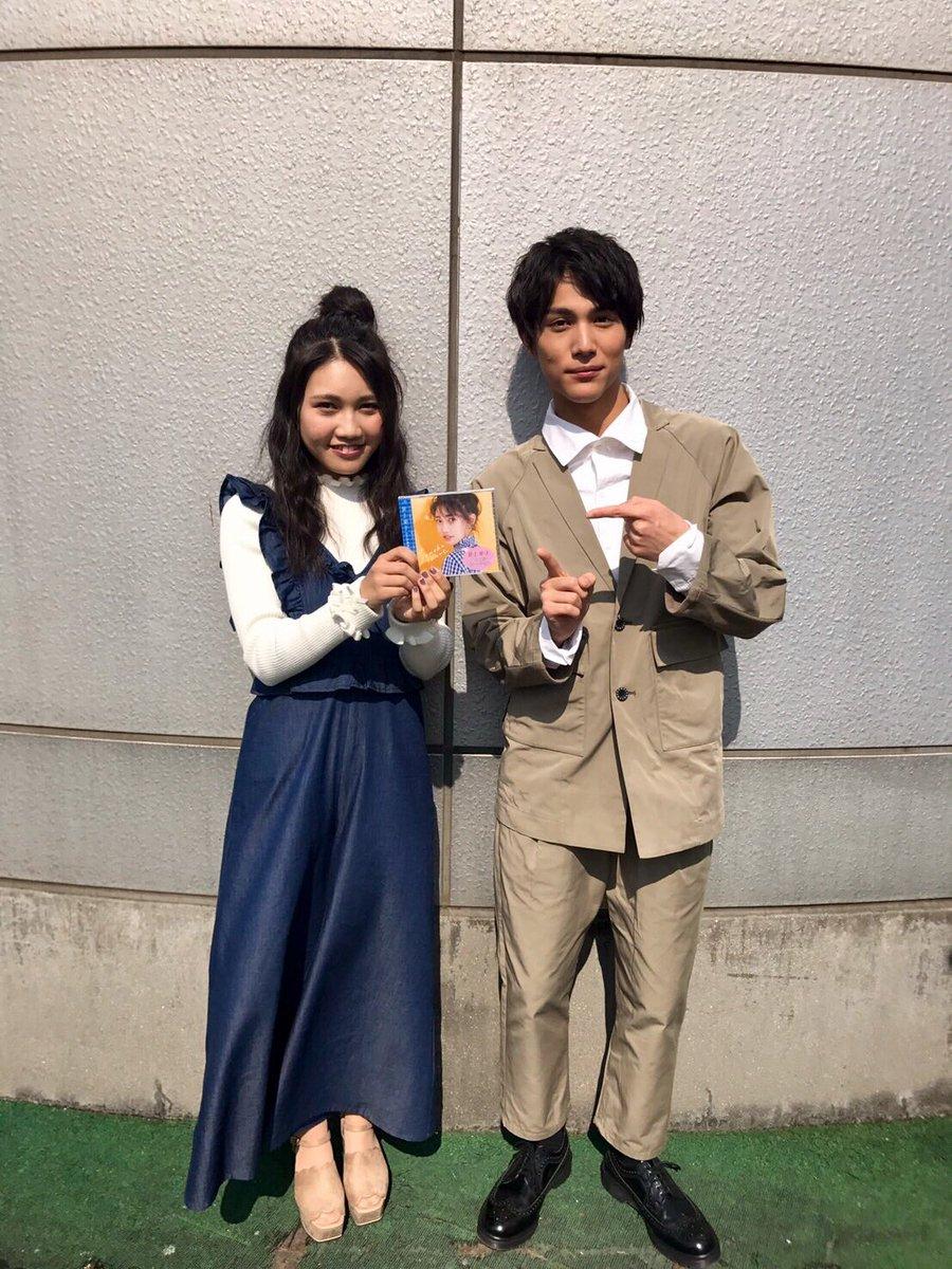 中川さんと井上さんが渋谷に登場‼️渋谷109で学割トークイベントが行われました💗井上さんは渋谷の真ん中で『#ReLIFE