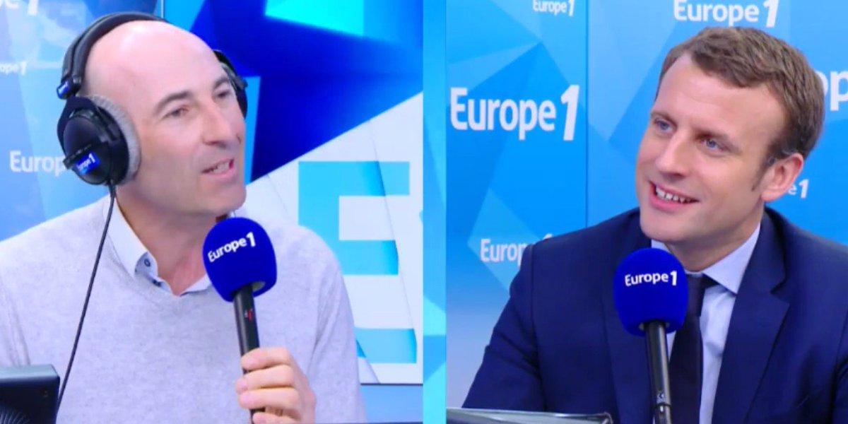 Suivez en Facebook Live la revue de presque de @CanteloupOff face à @EmmanuelMacron ➡️ https://t.co/8L0JVf2vT6 #Elections2017