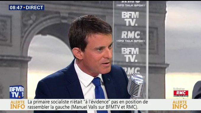 EN DIRECT - Valls : 'Moi, je serais exclu par ceux qui n'ont respecté aucune règle pendant 5 ans ?' #BourdinDirect 📺 https://t.co/LIEhlp6yN7
