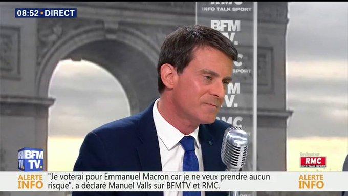 EN DIRECT - Valls : 'J'ai de l'estime pour @FrancoisFillon , j'imagine ses affres, ses souffrances' #BourdinDirect 📺 https://t.co/LIEhlp6yN7