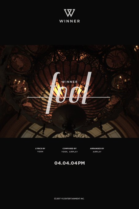[WINNER - FATE NUMBER FOR 'FOOL'] originally posted by https://t.co/XZQ3IOZLby #WINNER #위너 #FOOL #COMEBACK #0404 #4PM #fatenumberfor #YG