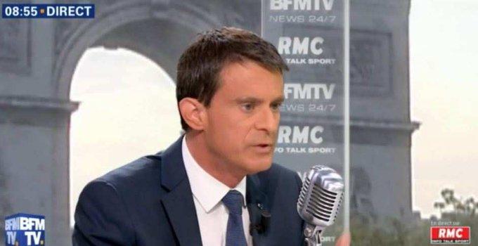 Manuel Valls annonce qu'il votera Emmanuel Macron https://t.co/tR75w3KHLM