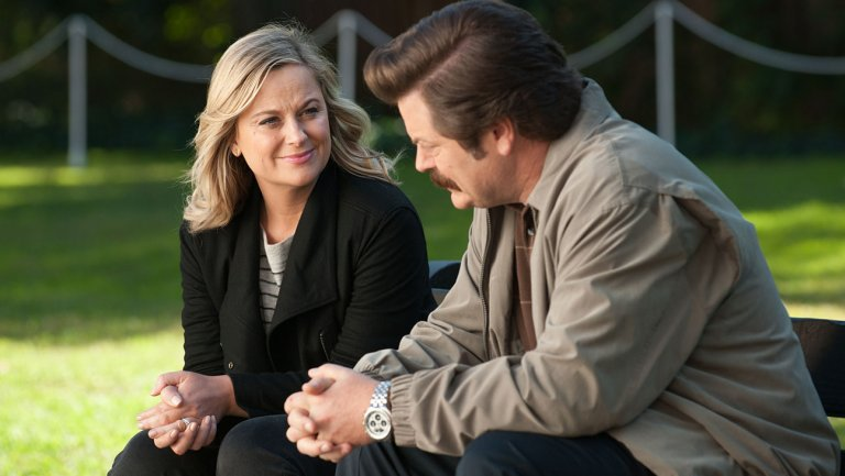 Amy Poehler and Nick Offerman reuniting for NBC reality competition