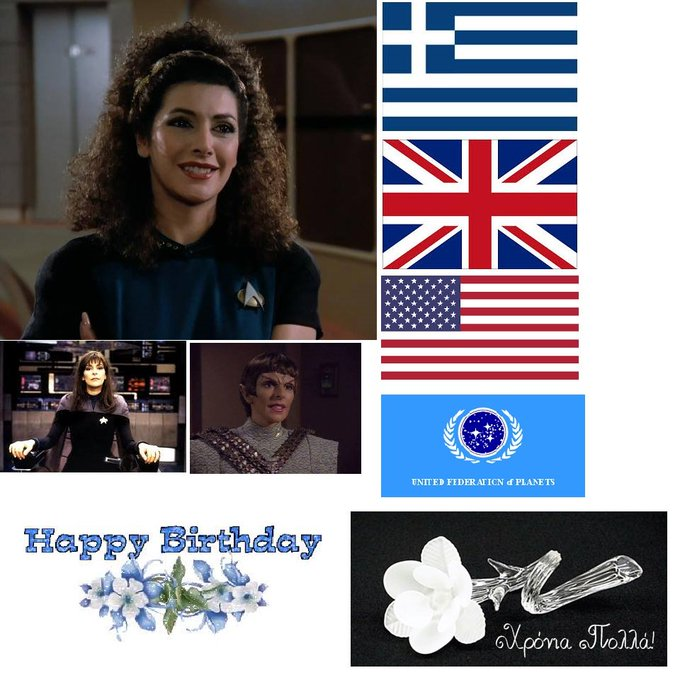 Happy birthday to you! Live long and prosper!              !               !