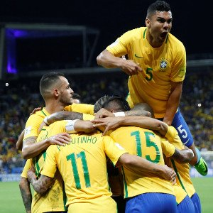 Brazil qualify for WCup, Argentina crash