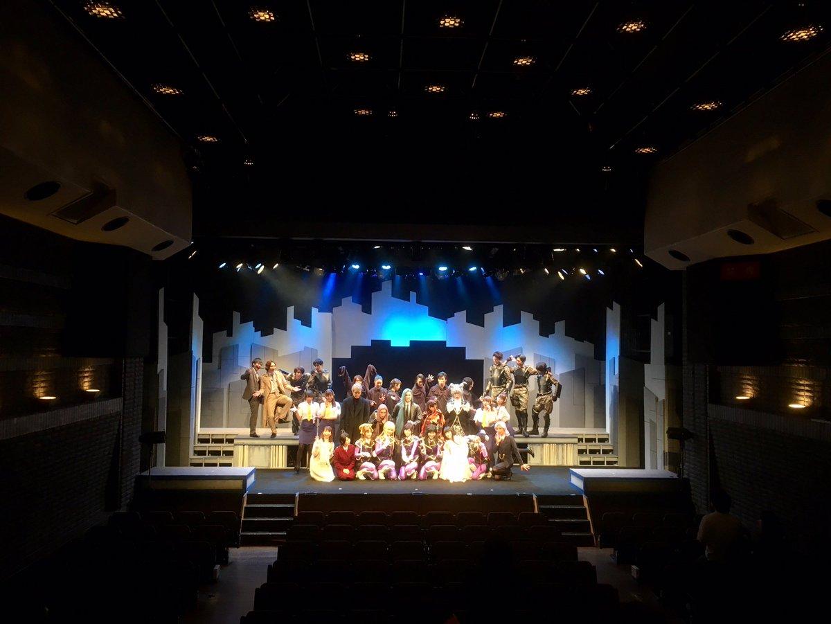 お誘いいただきまして、舞台 #サイレントメビウス ゲネプロへお邪魔してきましたよ。主演北園涼くんらと共に。とてもとても刺