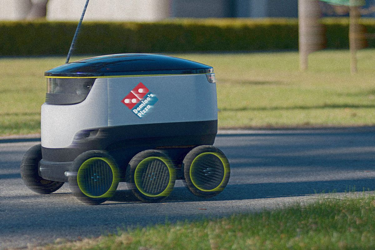 .@dominos will begin using robots to deliver pizzas in Europe