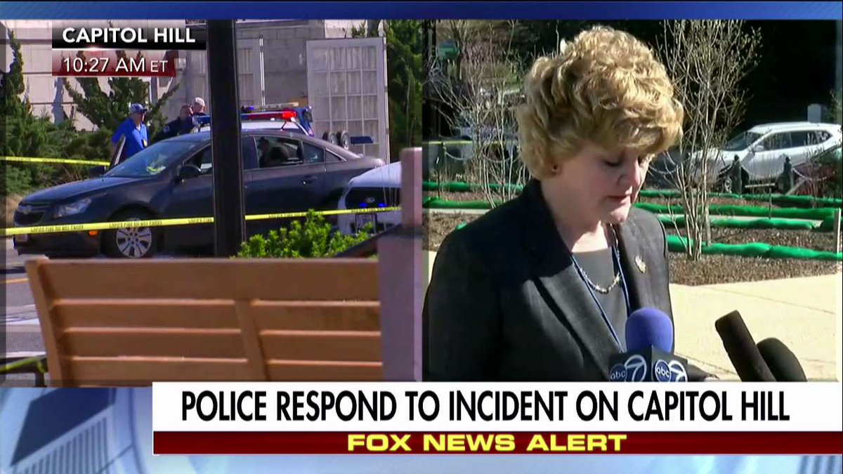 """Spokeswoman #CapitolHill """"erratic"""" driver nearly struck officers and struck at least one other vehicle."""