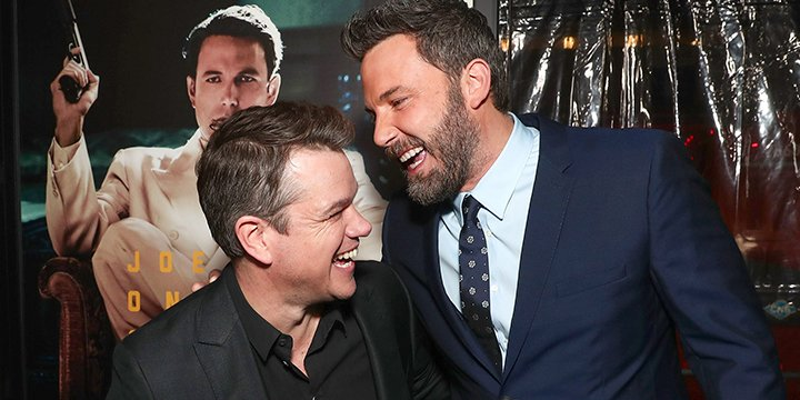 Matt Damon says Ben Affleck has been 'Mr. Mom-ing it' since completing rehab