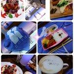 今日は友達と、名古屋パルコの「君の名は」カフェに行ってきました。新メニューのお弁当頼んだら、普通にお弁当で美味しかった🙌