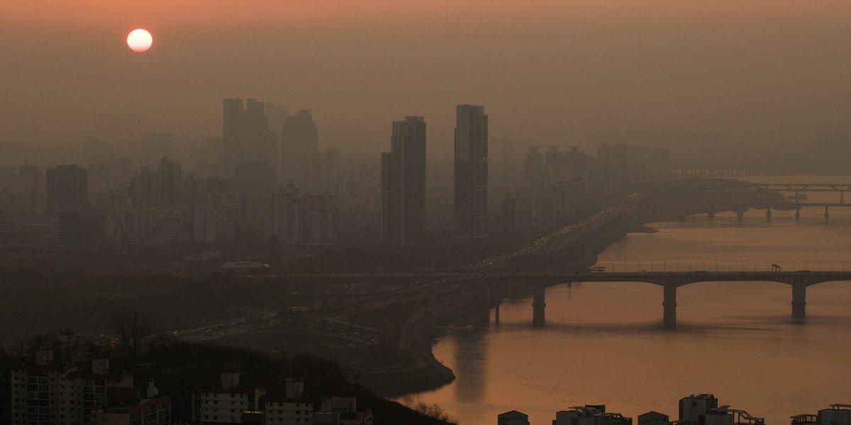 한국이 세계 최악의 공기오염 국가에 등극했다 https://t.co/bLfMDQjjzb