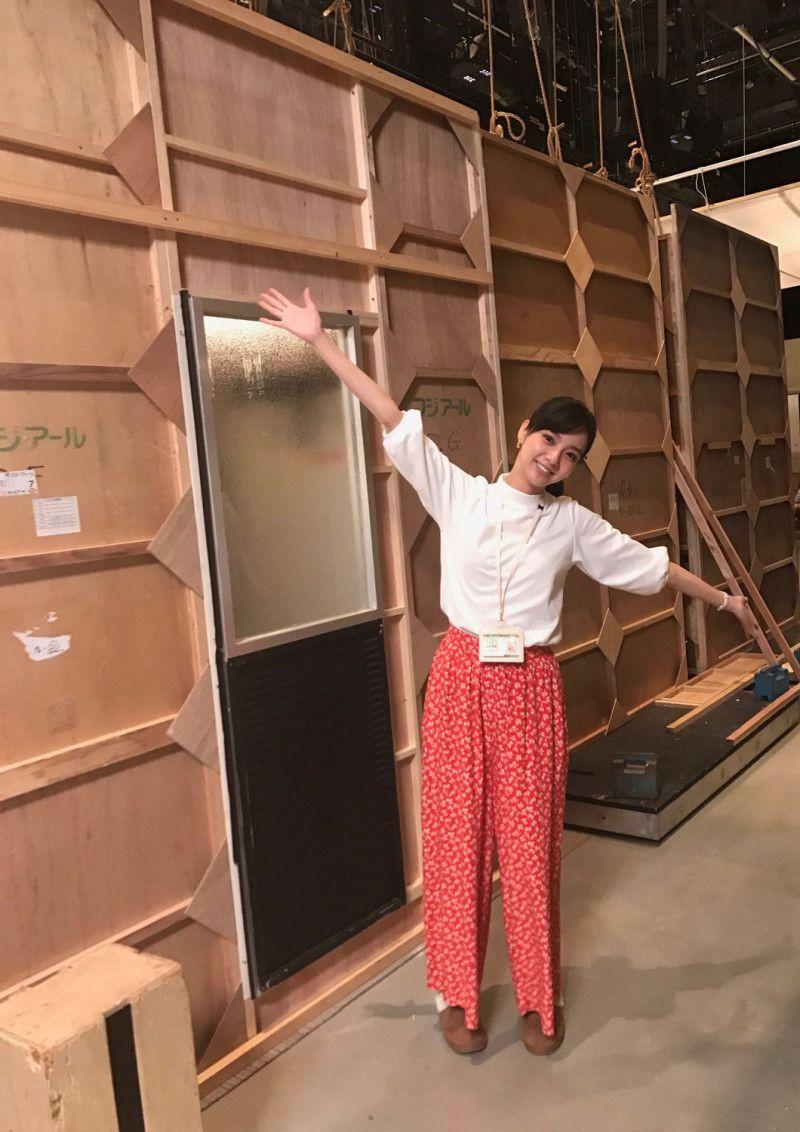 新川優愛さんがセット裏を紹介😊どんなセットか気になります✨#櫻子さん